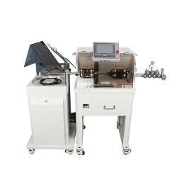Fully Automatic multi core sheath wire cutting stripping machine with Wire Coiling Machine WPM-680